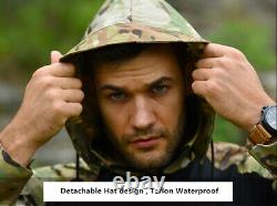 Waterproof Mens Tactical Shirt Pants Airisoft Military Uniform Army Camo Sets