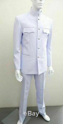 White UNIFORM Soldier shirt, suit, pants, Royal Thai army
