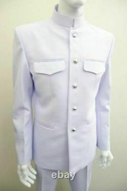 White UNIFORM Soldier shirt, suit, pants, Royal Thai army Military Original Item