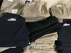 Wholesale Lot 150 School Uniform Clothing Pants Shirts Boys Girls Navy White