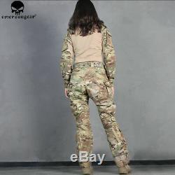 Woman G3 Combat Uniform Tactical Hunting Suit Military Shirt & Pants Set Clothes