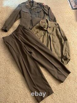 World War 1 Wool Army Jacket, Pants, & Shirt