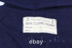 World War II Wool US Navy Uniform Shirt 2 Pants Naval Clothing Factory Navy Blue