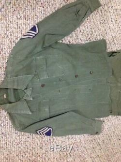 Ww2 Wac Pants And Shirt Hbt Great Condition Both Small
