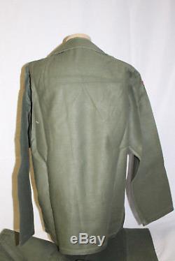 Wwii To Vietnam Brigadier General Franck Townend Og-107 Shirt And Pants Set