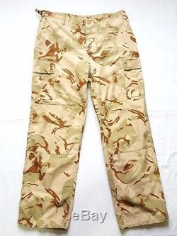 Yugoslavia Serbia Army First Desert Camo Uniform T-Shirt and Pants Rare Camo MD